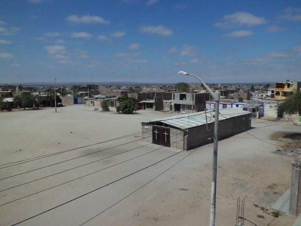 任務地のピウラは砂漠の街でした。